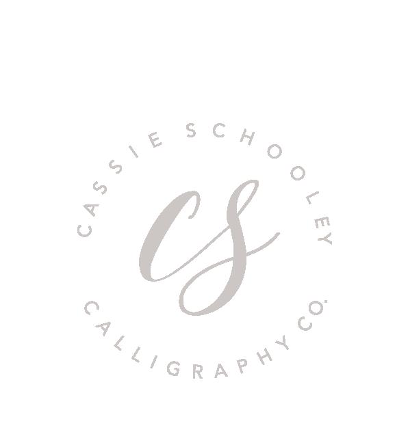 Cassie Schooley Calligraphy Co