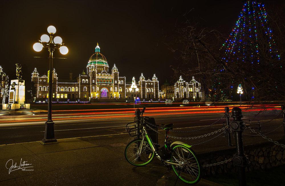 The Iconic Legislative Building in Victoria, BC, Canada