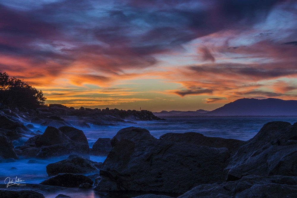 Afternoon Sunset, South West Rocks, NSW, Australia