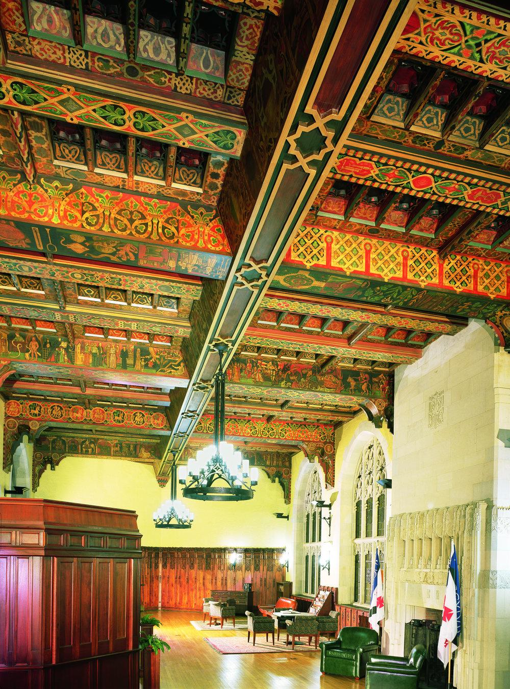 Yale Hall of Graduate Studies Lounge