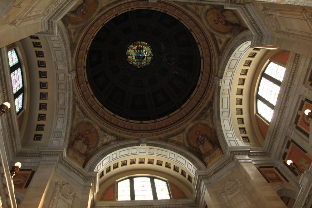 Rotunda Dome: Before Restoration