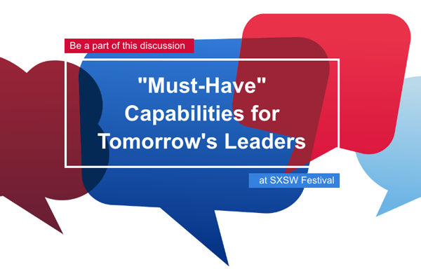 Must have capabilities for tomorrow's leaders