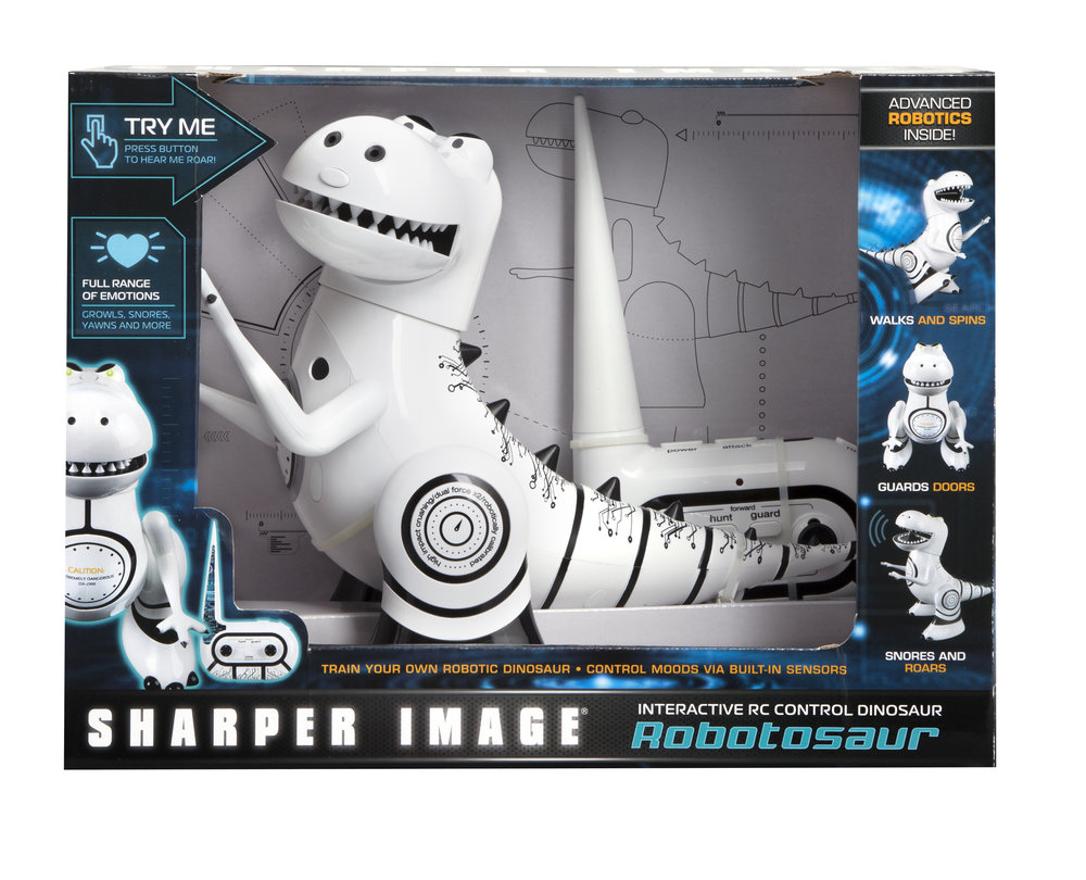 Sharper Image Robotosaur Window Box