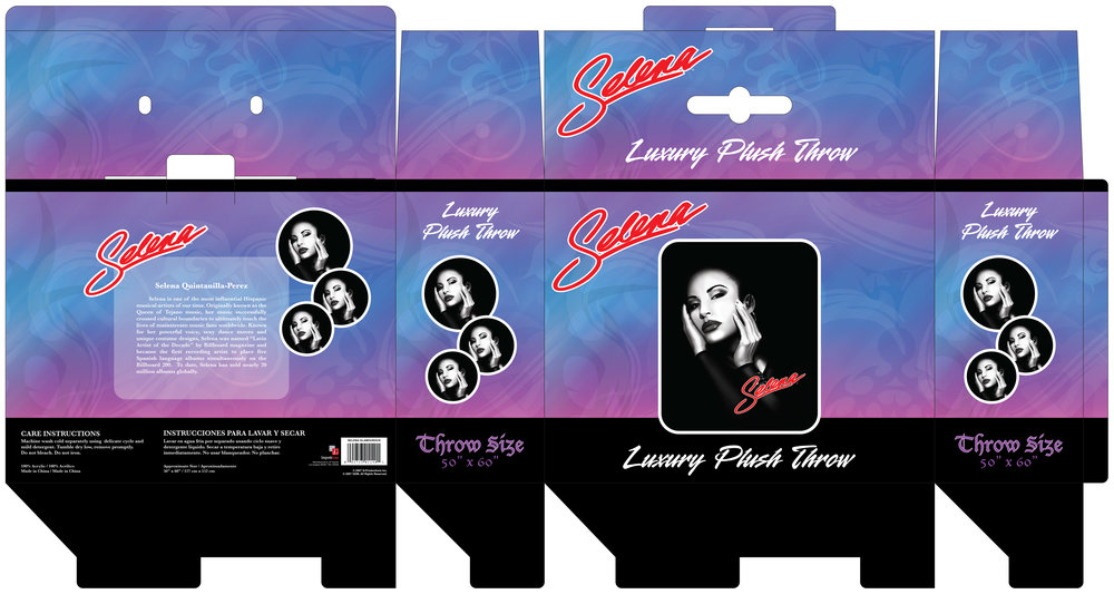 Selena Throw Blanket Box