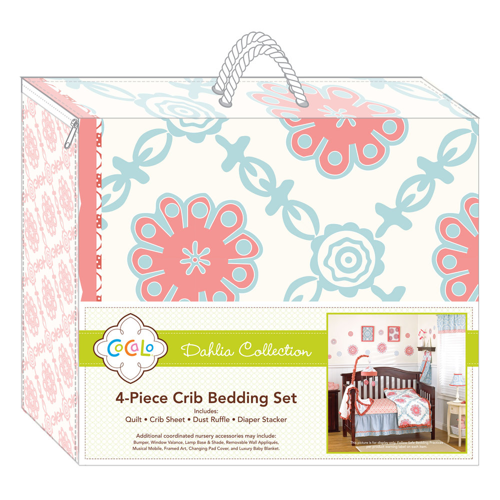 Cocalo Baby Bedding Packaging