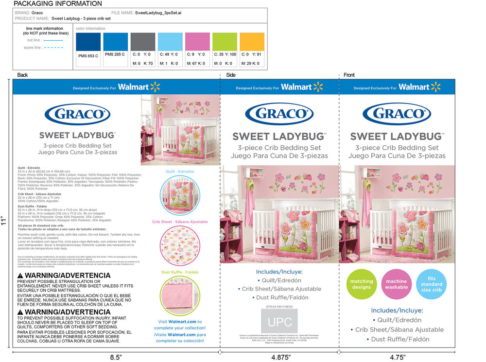 Graco Baby Bedding Insert