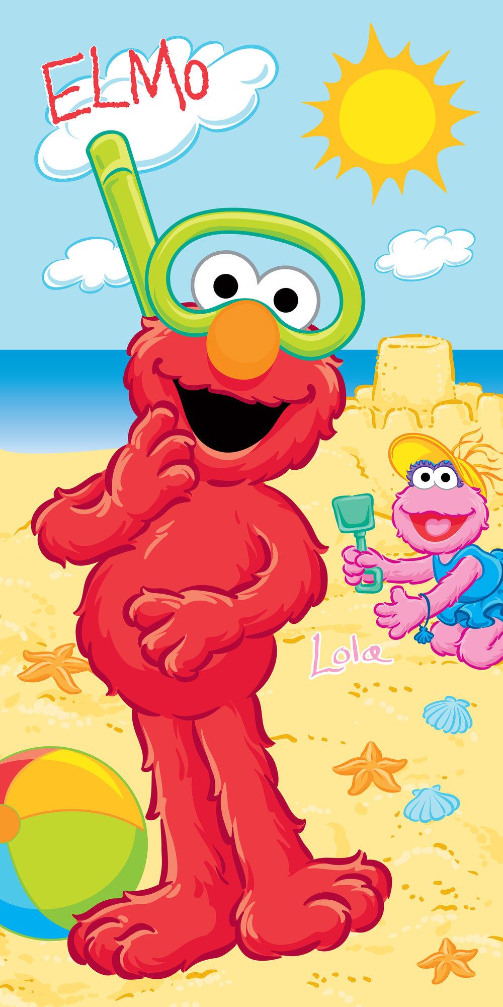 Sesame Street Beach Towel
