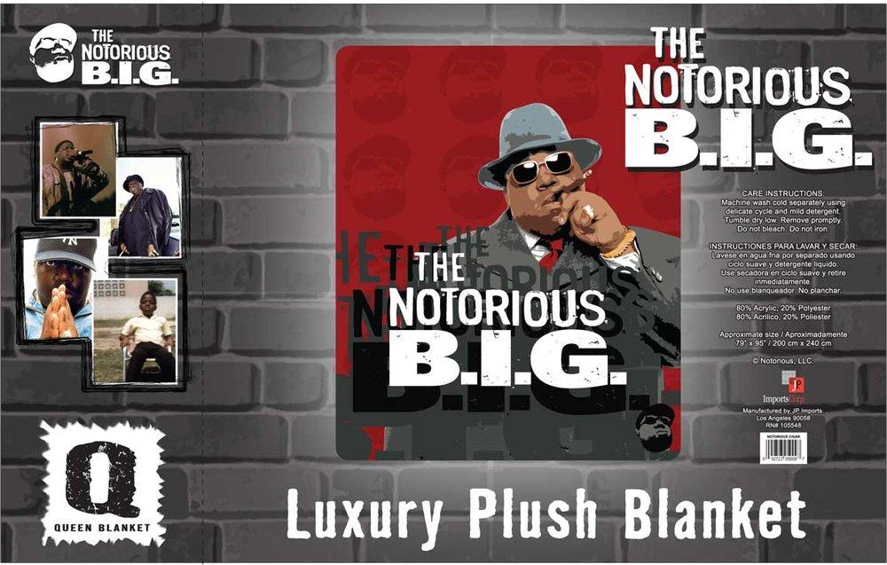 Notorious BIG Blanket Insert