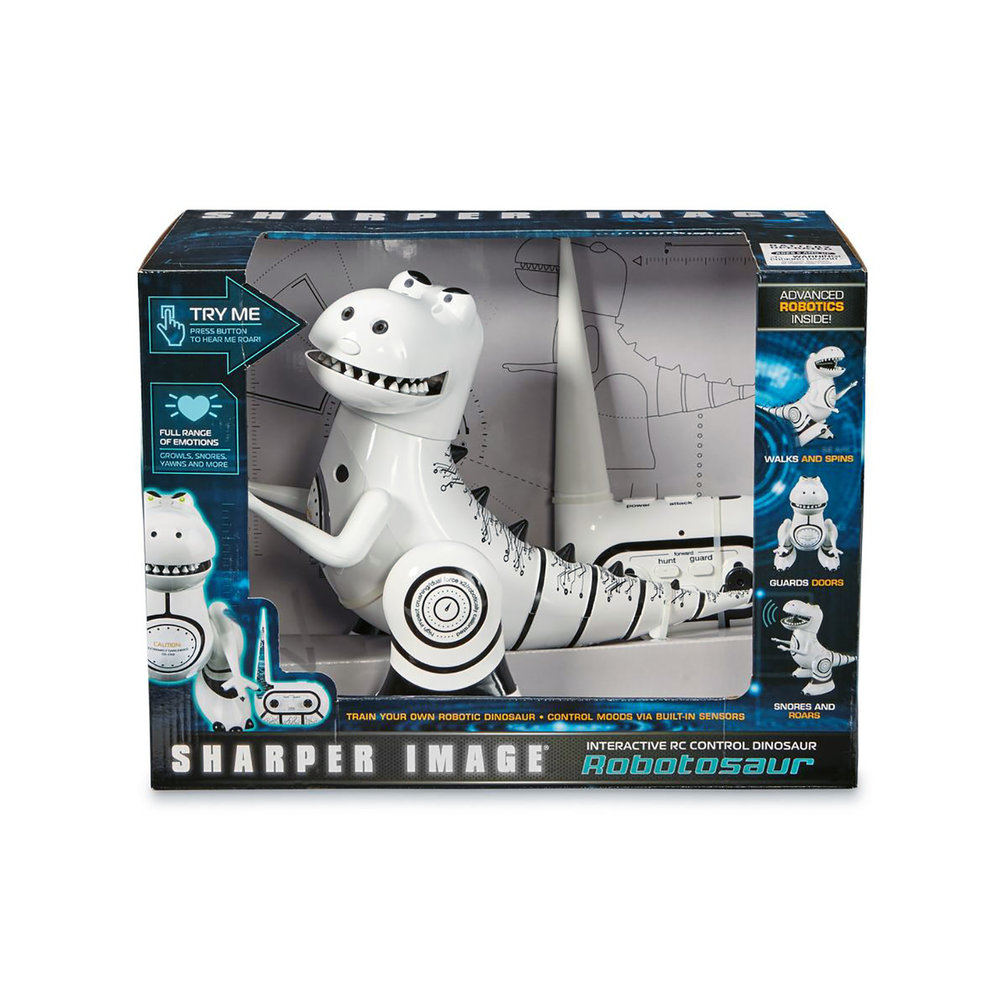 Sharper Image Robotosaur - Box Packaging