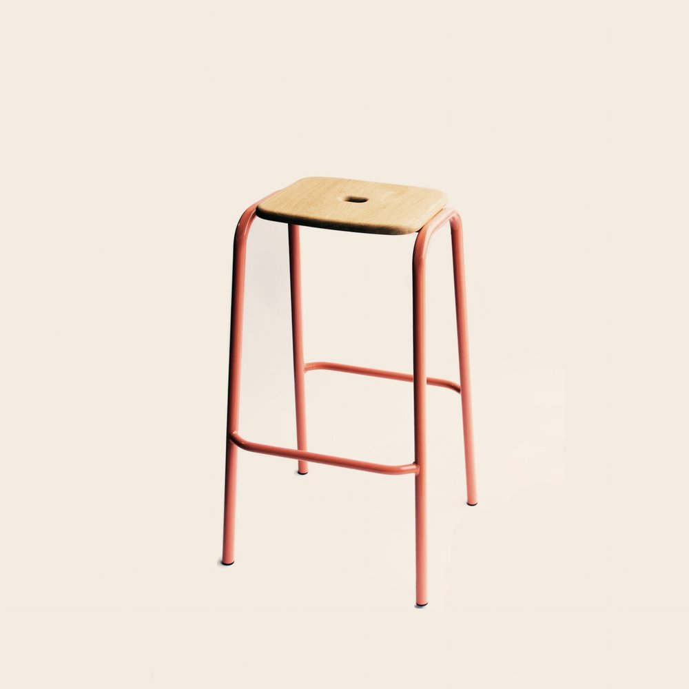 L81 A-Frame Barstool (stackable)