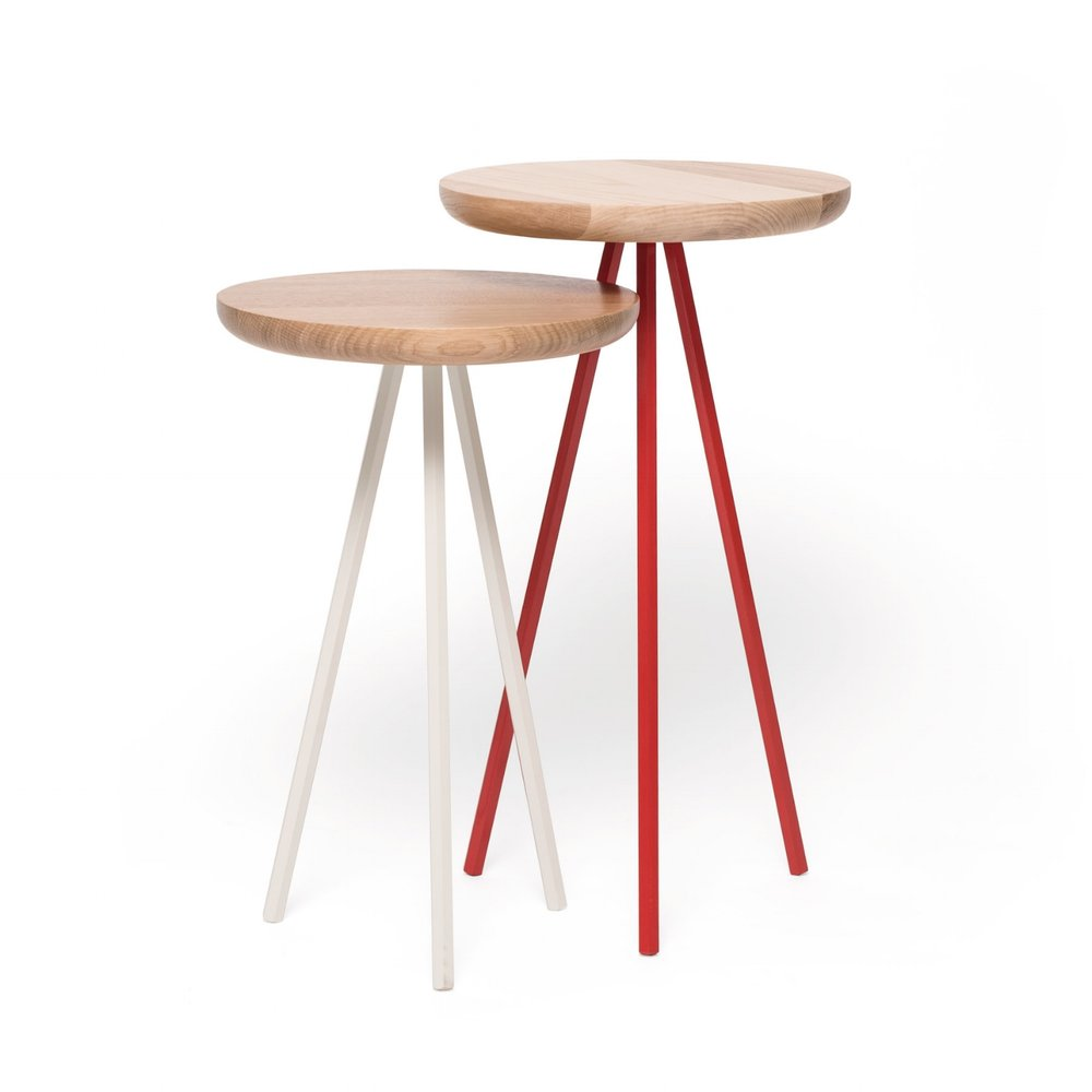 HIGH LEVEL SIDE TABLE (circle)