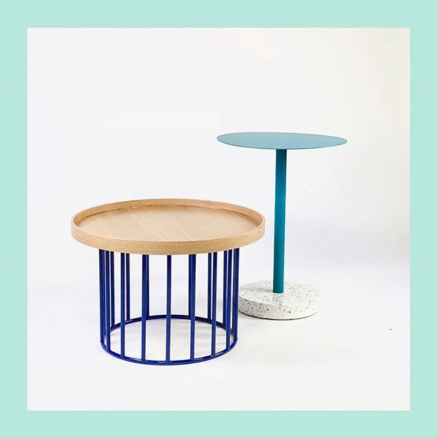 Soo excited for all the side tables from our future partner 🤩😆 look at these babies: playful, elegant, customizable,  and built for high traffic. Details soon 👌👊👍 . . . #design #terrazzo #hospitalityinteriors #tabledesign #tables #bistrotables #cafetables #restaurantdesign