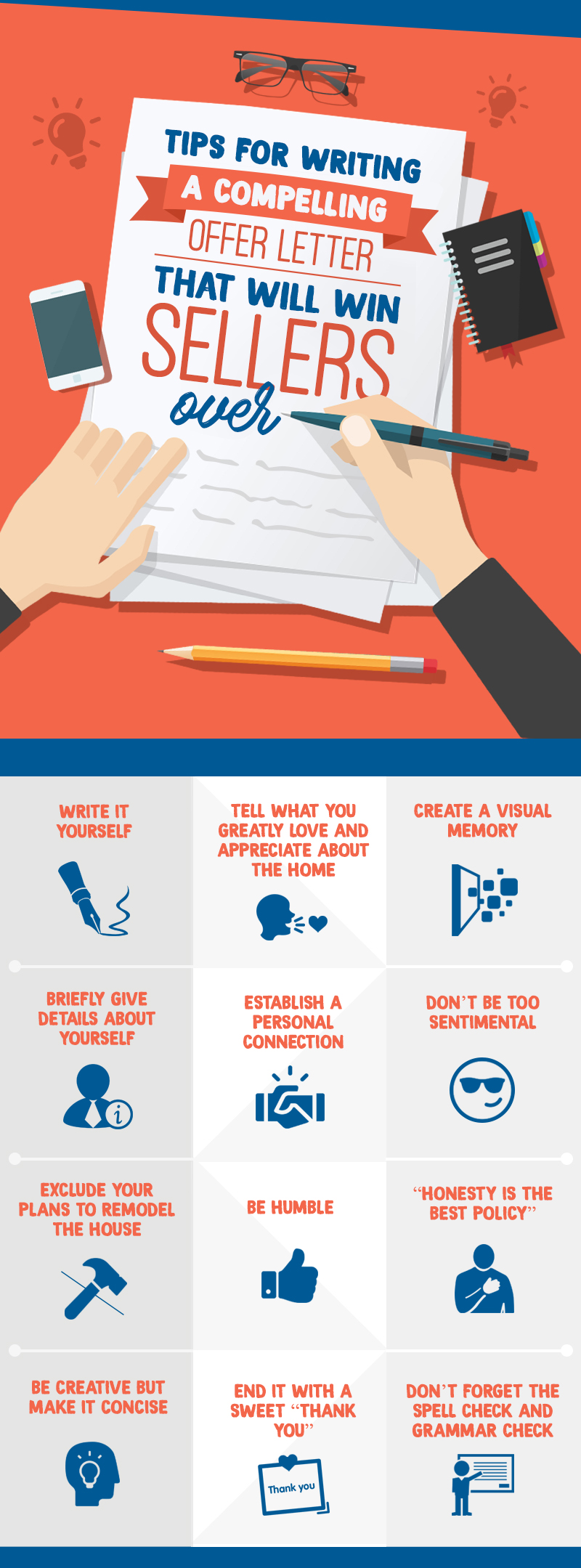 12 Tips For Writing A Compelling Offer Letter That Will Win Sellers Over