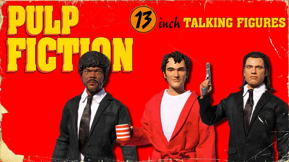 Talking Pulp Fiction Dolls (Audio)