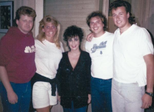 Scott, Christine, Elizabeth Taylor, Doug, Chris.jpg