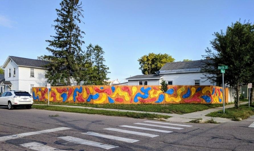 shapes & colors on north union & north st (made possible with support from the  BCA community fund ) - 2018