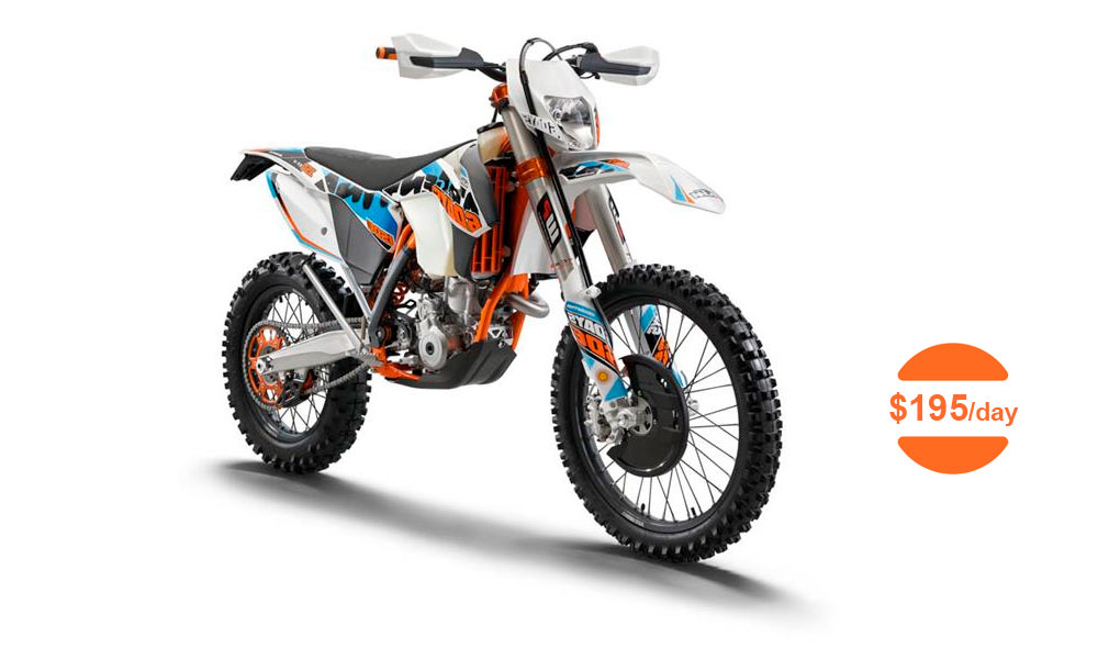 2014 KTM Six days XC-W 300 (2 Stroke) Dirt Bike