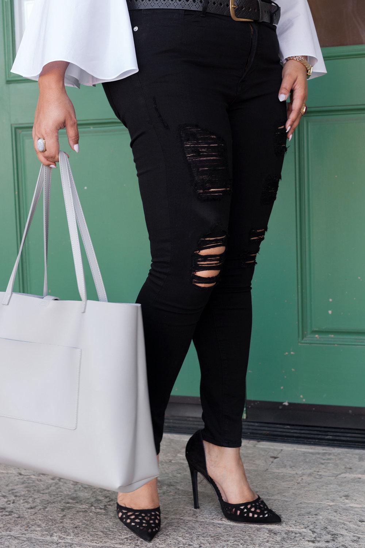 Jeans: Good American (Good Legs Black) -