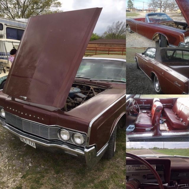 - Restoring classic car - 1967 Lincoln Continental