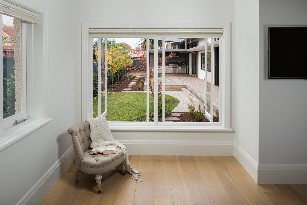 Laneway Residence_Master Suite / Courtyard