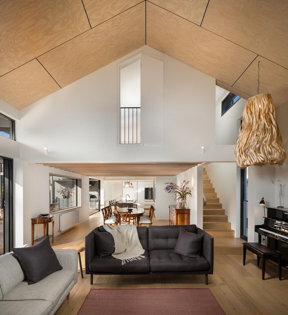 Laneway Residence_Living