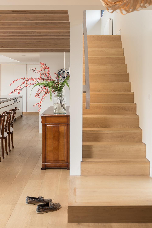 Laneway Residence_Stair Detail