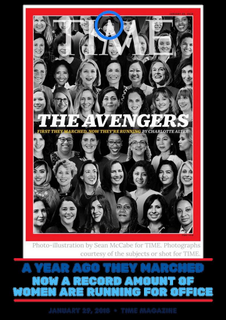 Time Magazine Avengers