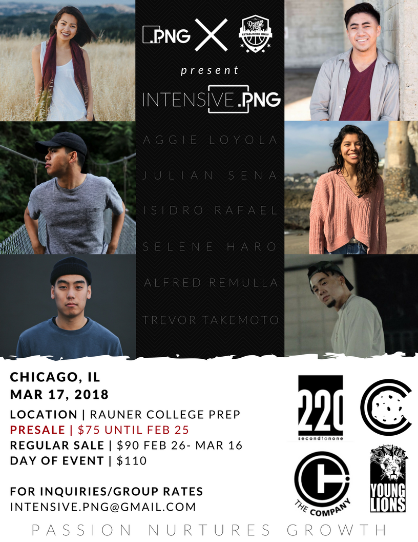 The second Intensive.PNG is set for March 17, and features a whole list of amazing movers representing The Company, Choreo Cookies, 220, Young Lions, and the Dream Team! You don't want to miss out on this super affordable experience.  Register here !