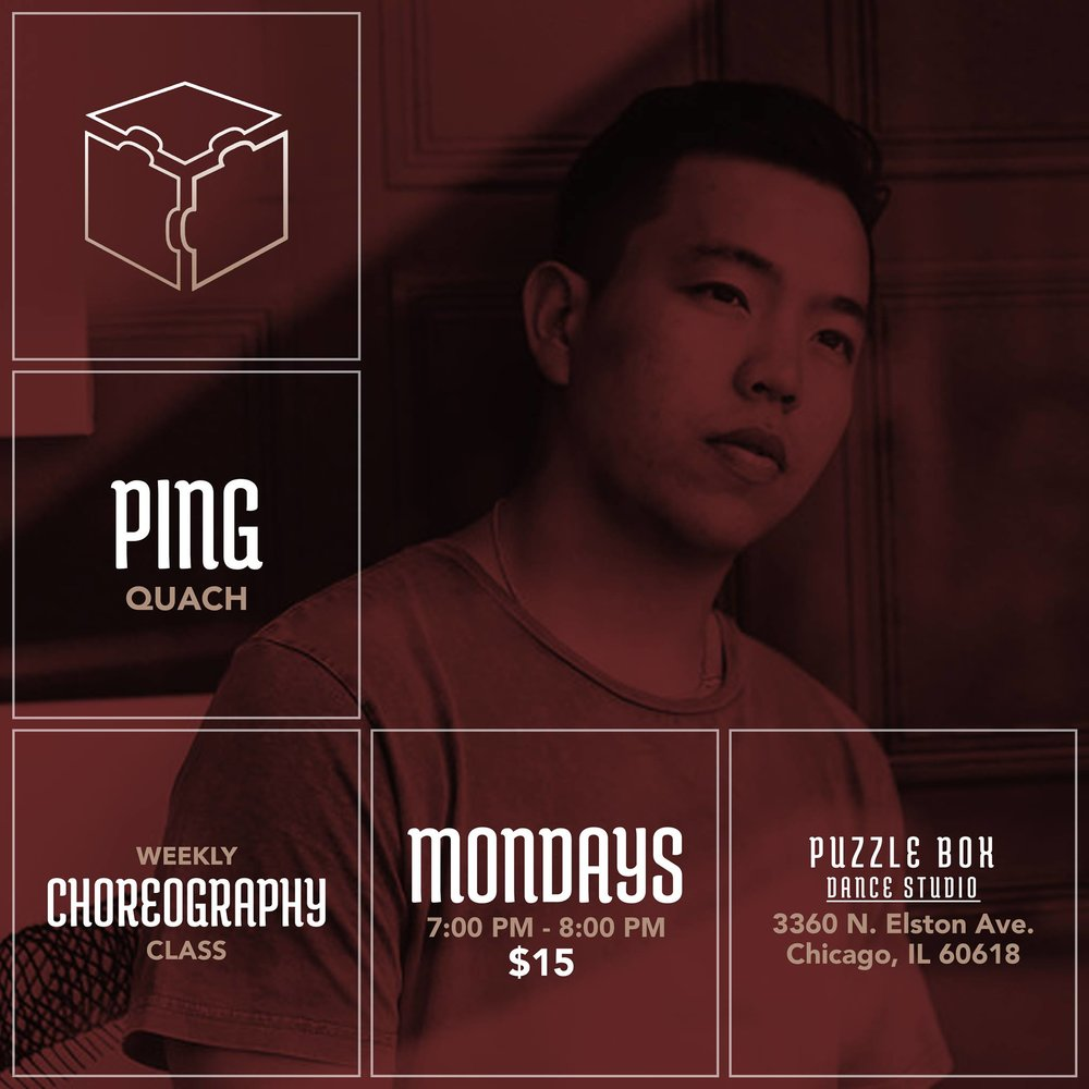 By the way - make sure you catch Ping's weekly class at the Puzzle Box!