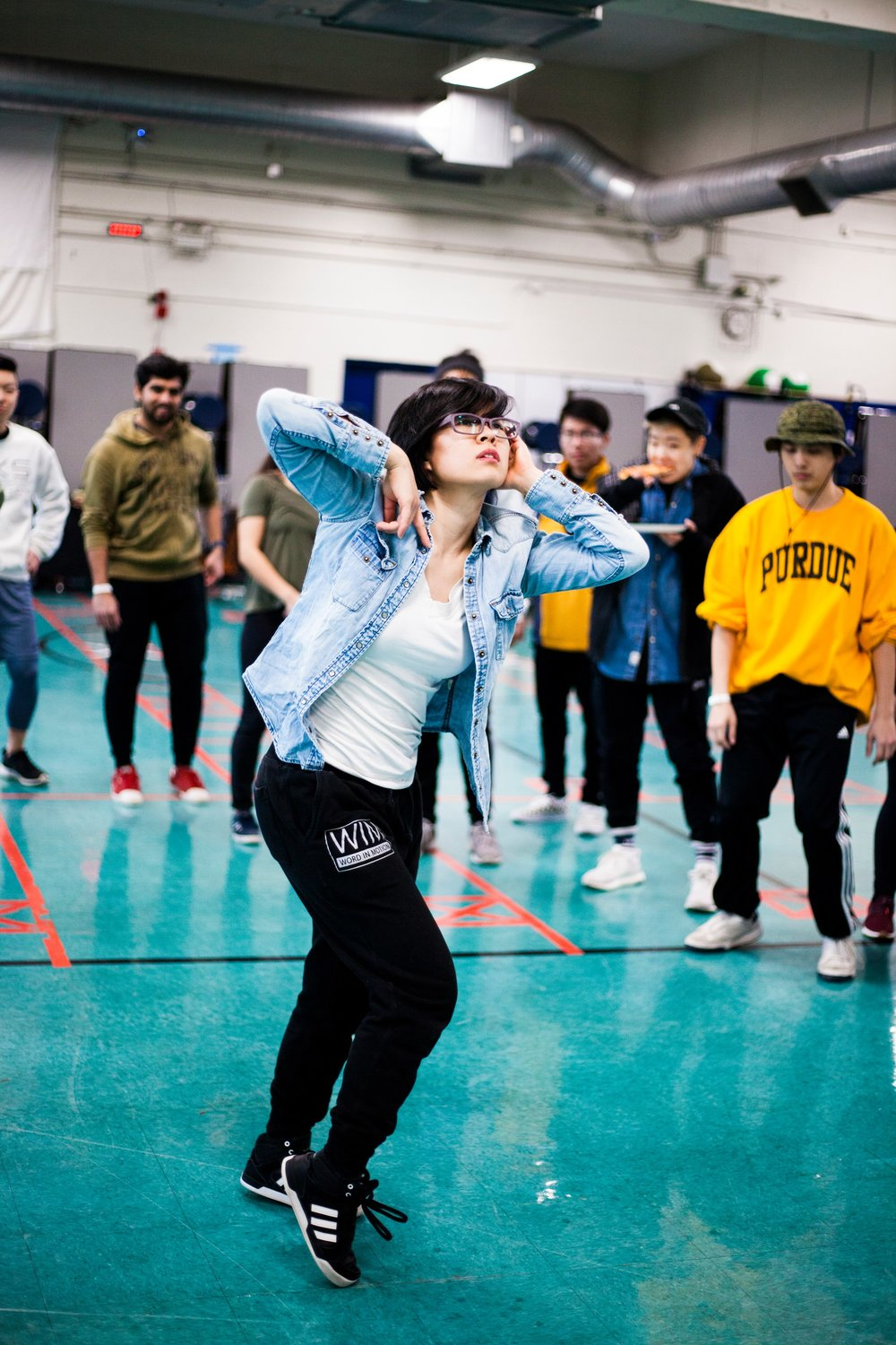 Sherry killing the cypher at  Intensive.PNG Dance Camp !  📷:  Michael Lim Photography