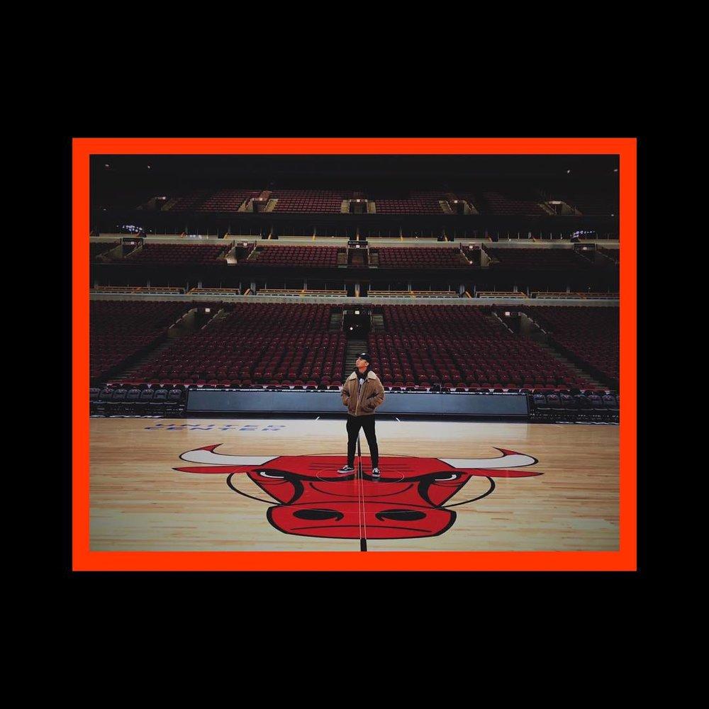 Aside from CODA, Derrick also dances for the Chicago Bulls' premier dance crew,  312 Crew !