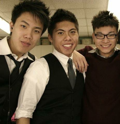 Auroris Days at Niles North High School! (Left to Right: Johnny Woo, Christian Donayre, Chris Chueng).
