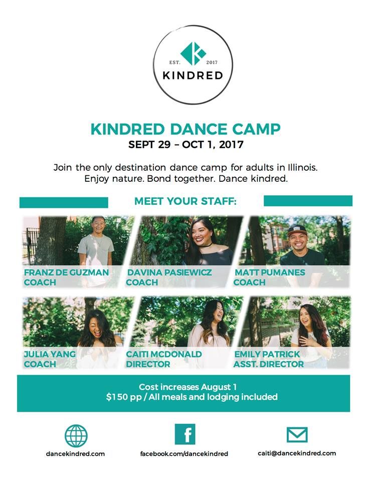 The very first Kindred Dance Camp featured local powerhouses who worked to give back to dancers in their community!