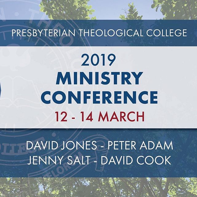 REGISTRATIONS ARE NOW OPEN! . Don't miss this fantastic opportunity to hear David Jones, Peter Adam, Jenny Salt and David Cook at the same conference. . For more information and to register, click link in bio.