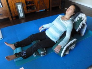 Restorative Yoga Lisa