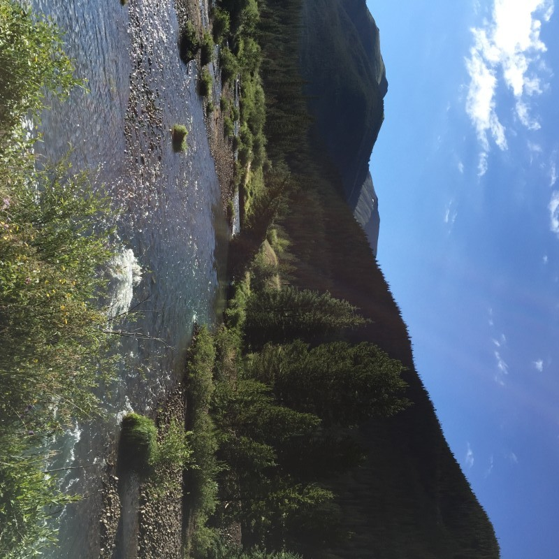 Montezuma Road Snake River morning Colorado July 2015