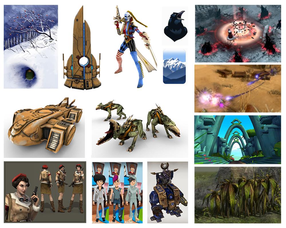 3D - Models, Textures, VFX (Digital)