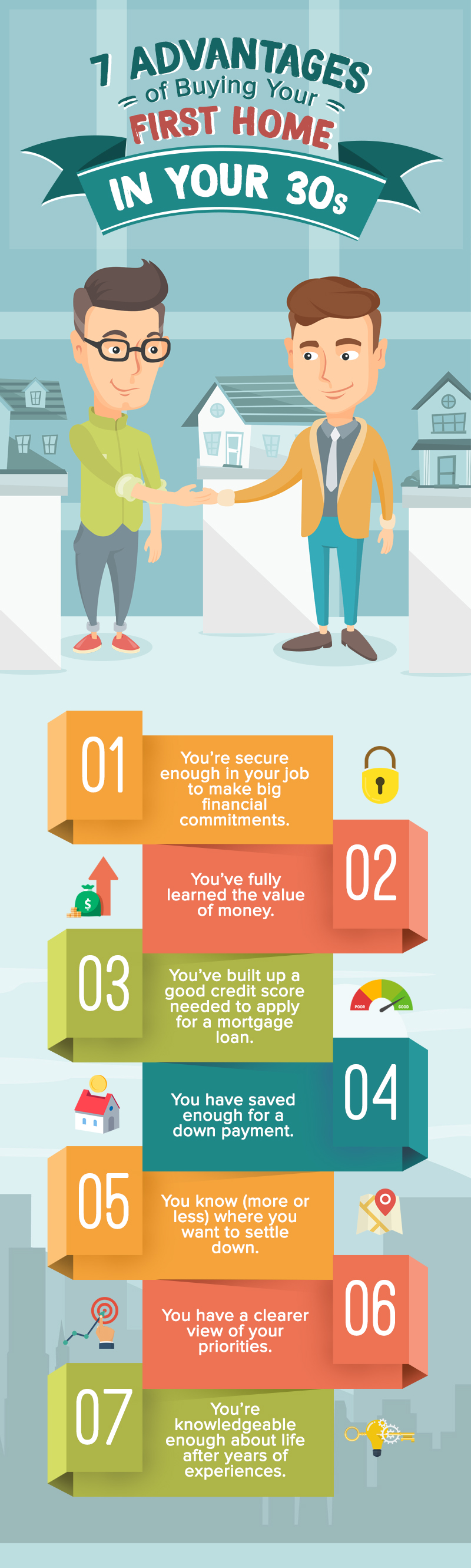 7 Advantages of Buying Your First Home in Your 30s