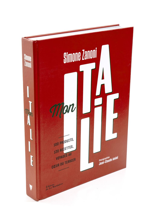 Mon Italie (couverture seule)  Simone Zanoni  Éditions de La Martinière  410 pages