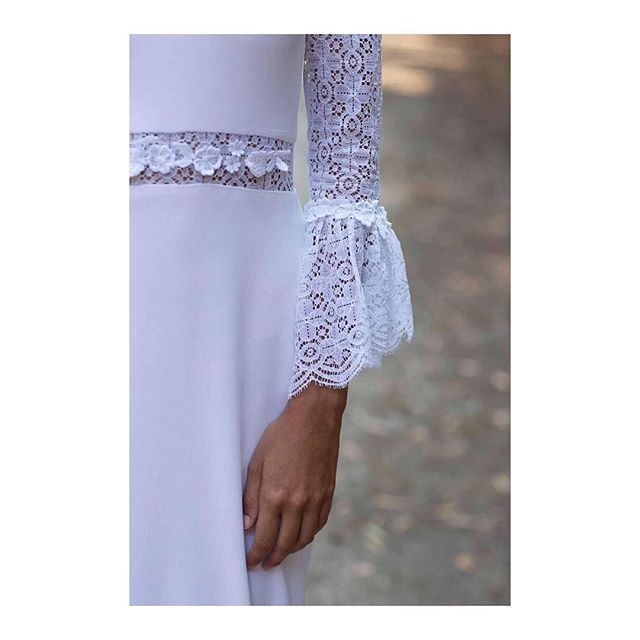 | Detail sneak peek from @ohqueluna | Soon available at Hera Zürich | #happymonday . . . #herazürich #herazuerich #herabridal #bridalstore #zurich #zürich #zuerich #comingsoon