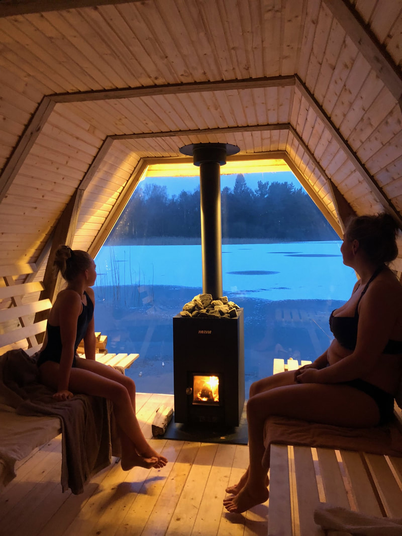 Sauna  - Mogy Retreats
