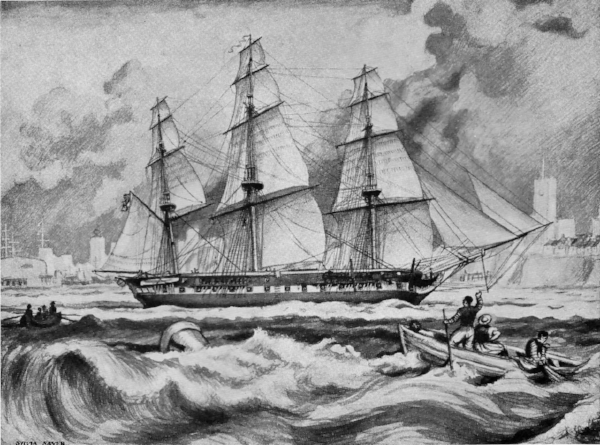 The fourth HMS Vernon