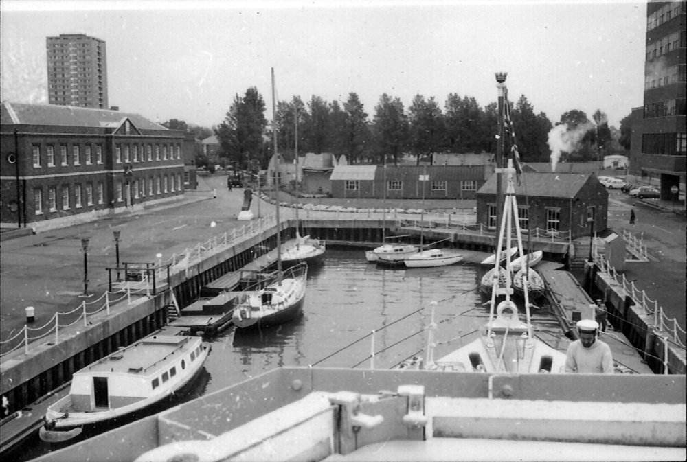 Vernon Creek from HMS Laleston in 1974