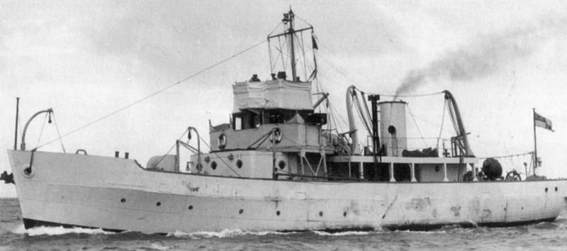 VERNON-based minelayer HMS Miner II