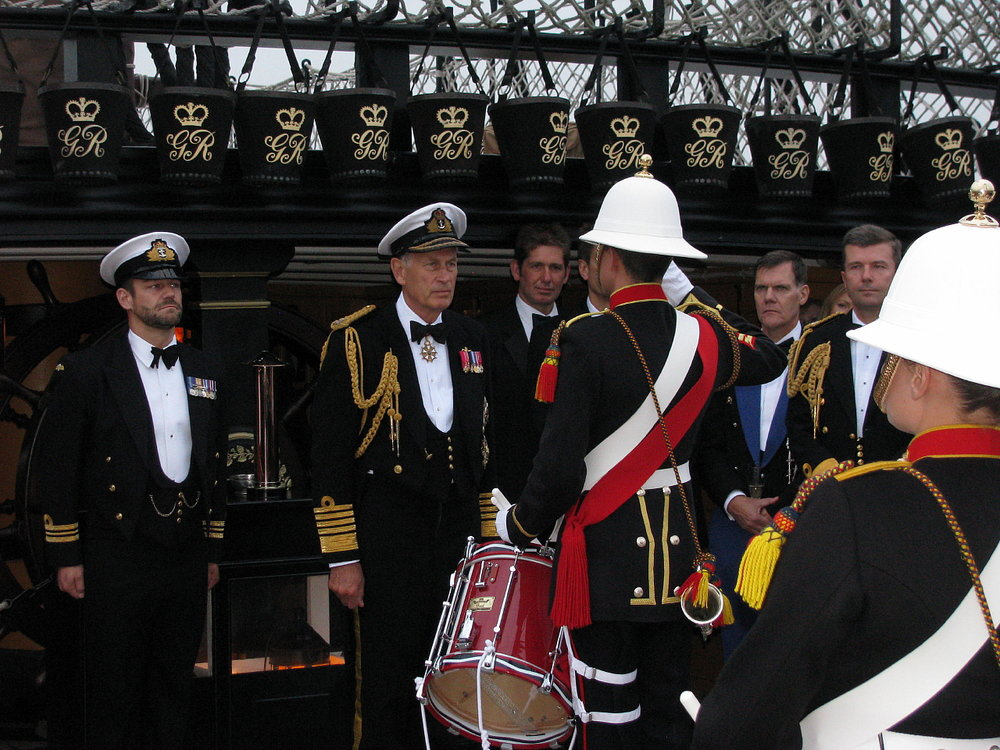 Project Vernon charity dinner on board HMS Victory 11 Sep 2014 (39).jpg
