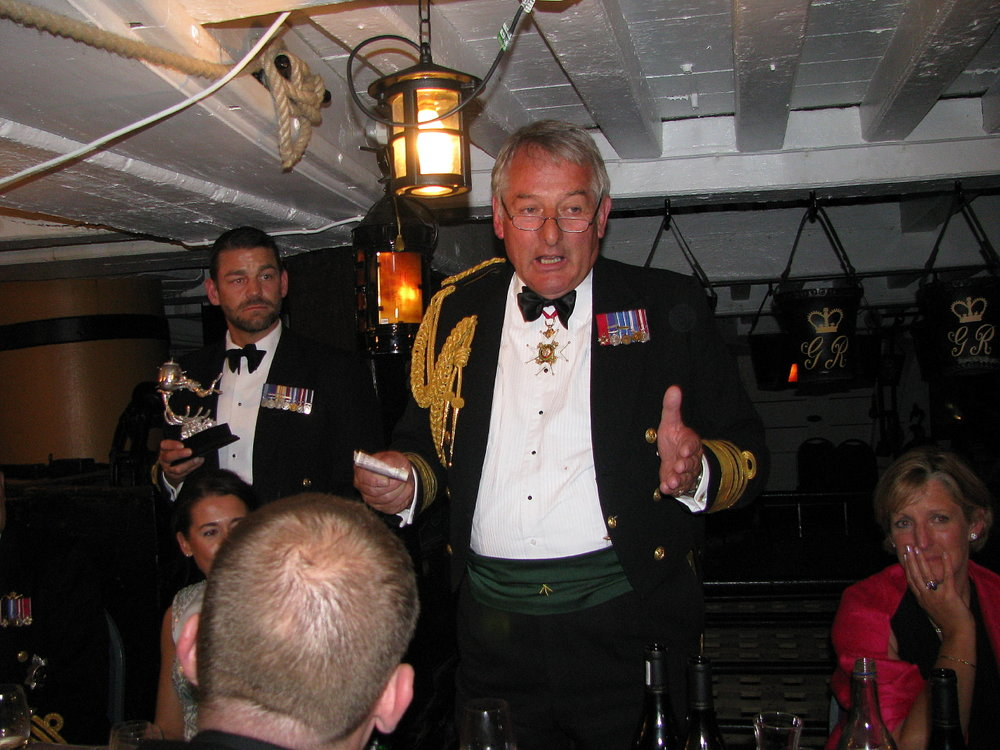 Project Vernon charity dinner on board HMS Victory 11 Sep 2014 (103).jpg