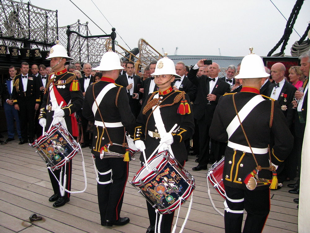 Project Vernon charity dinner on board HMS Victory 11 Sep 2014 (36).jpg