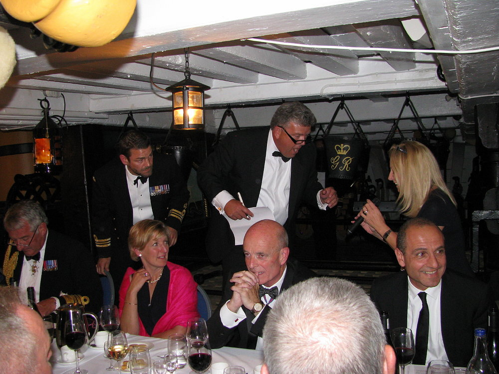 Project Vernon charity dinner on board HMS Victory 11 Sep 2014 (92).jpg