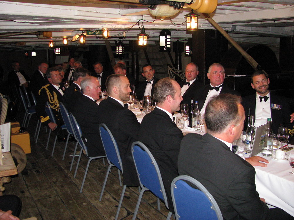 Project Vernon charity dinner on board HMS Victory 11 Sep 2014 (82).jpg