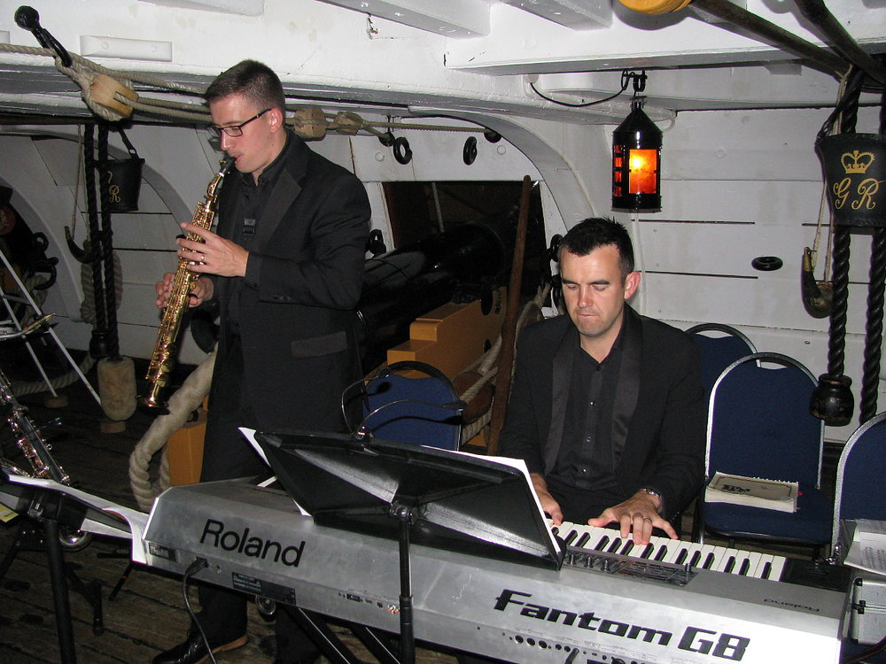 Project Vernon charity dinner on board HMS Victory 11 Sep 2014 (60).jpg